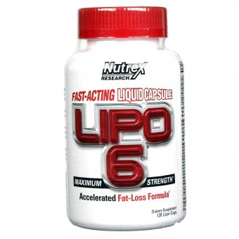 Nutrex lipo 6 white 120 count USA