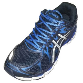 Asics Black & Blue Jogger for Men