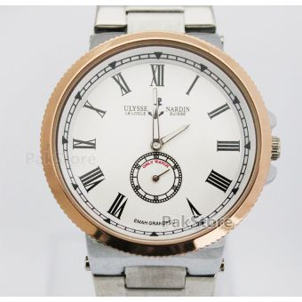 ULYSSE NARDIN Downsecond White Copper Mens Watch