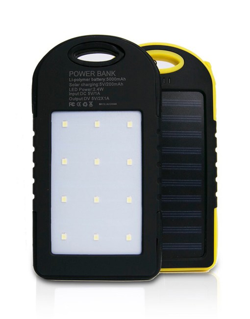 Solar Power Bank For Mobiles