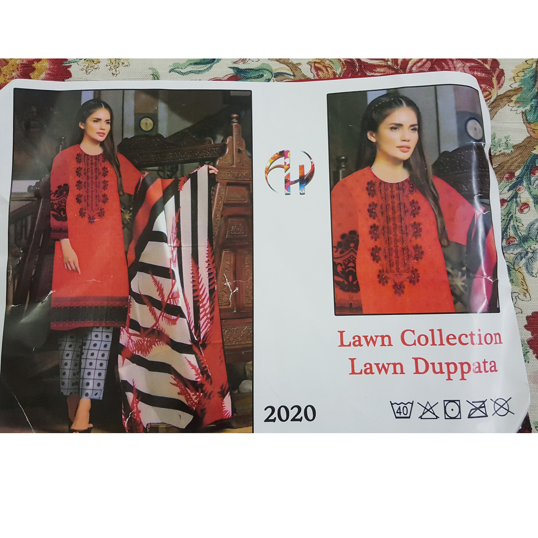 Ladies branded lawn replica summer 2020
