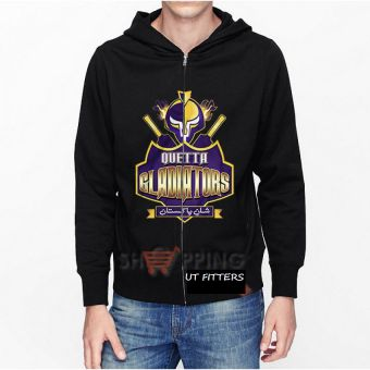 Quetta Gladiators Pakistan Super League Hoodie - Black