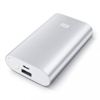 Mi 10200Mah Portable Power Bank - silver_1