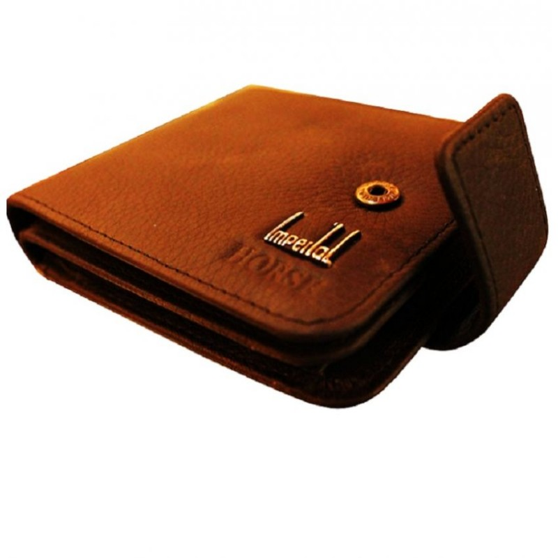 Simple Brown LEATHER Wallet