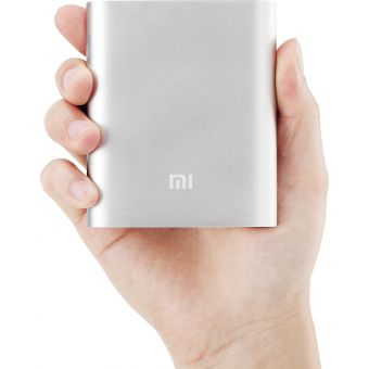 Mi 10200Mah Portable Power Bank - silver