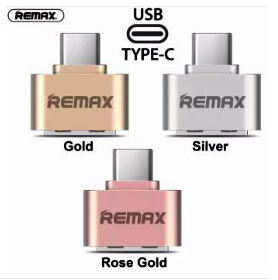 Remax OTG Connector Adapter 10 Piece (Siver & Gold & Rose Gold)