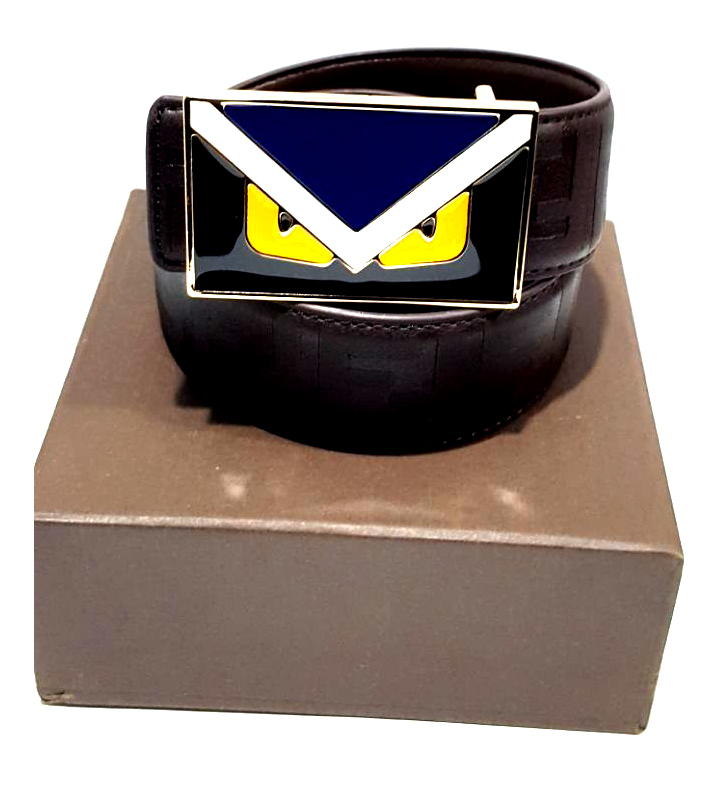 Brown Leather Belt For Men