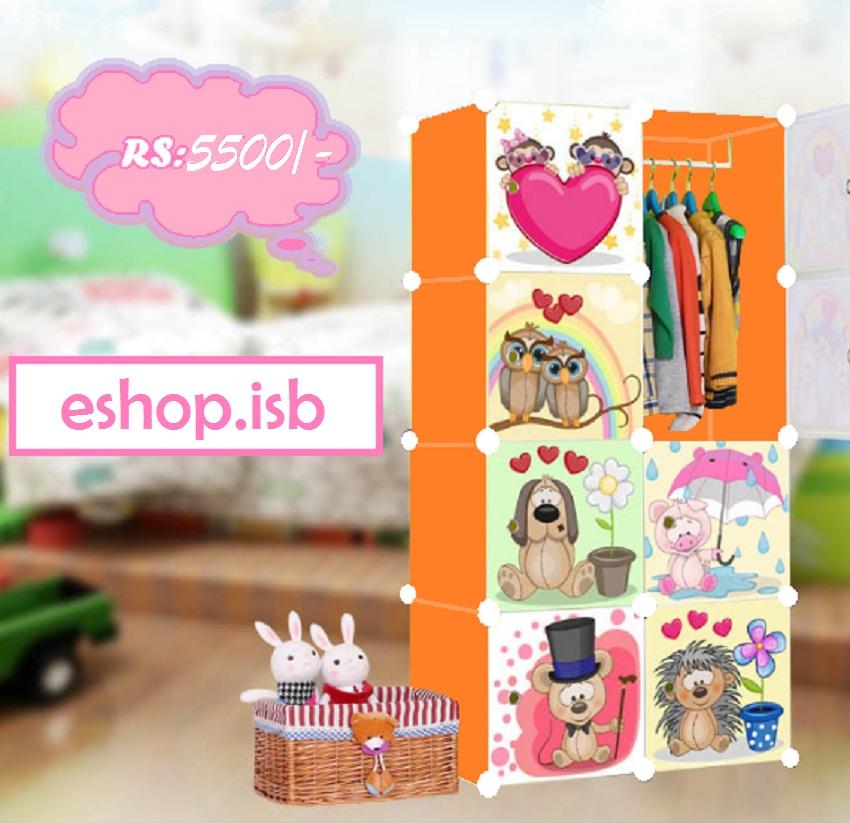 Multi-Character Wardrobe & Storage Cabinets