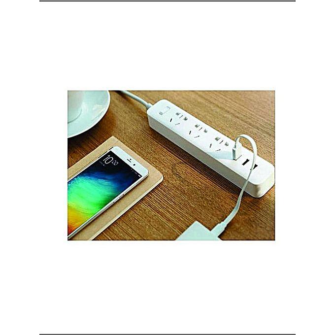 Mi Power Strip Socket Of The Art 3 USB Charging Port