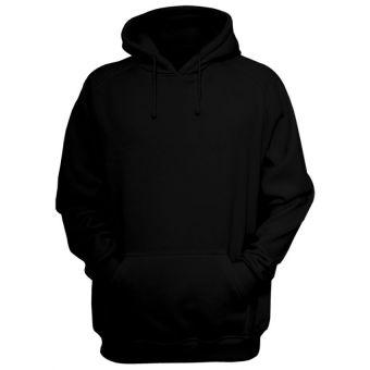 Plain Black Hoodie