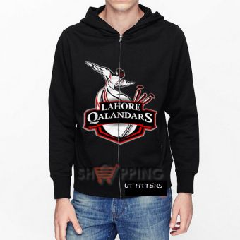 Lahore Qalandar Pakistan Super League Hoodie - Black