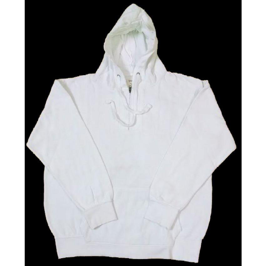 Plain White Hoodie