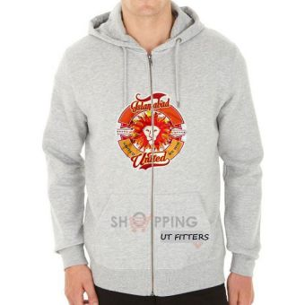 Faisalabad United Pakistan Super League Hoodie - Grey