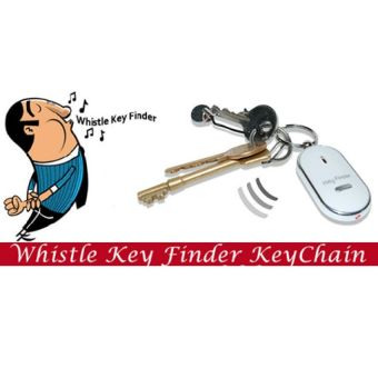 Pack of 2 Whistle Key Finder Keychain