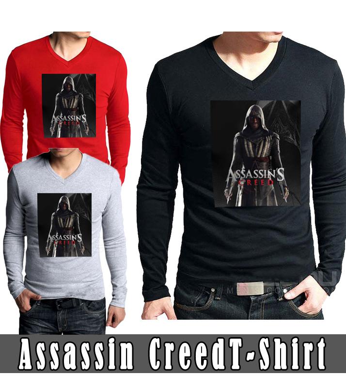 Assassin Creed Full Sleeves T-Shirts