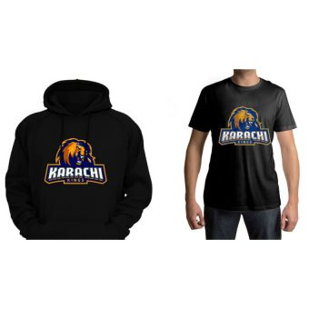 Combo of Karachi King Hoodie + T-shirt