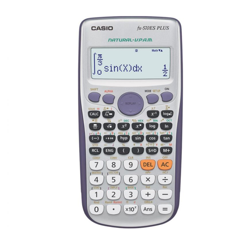 New Casio Scientific Calculator FX-570ES Plus